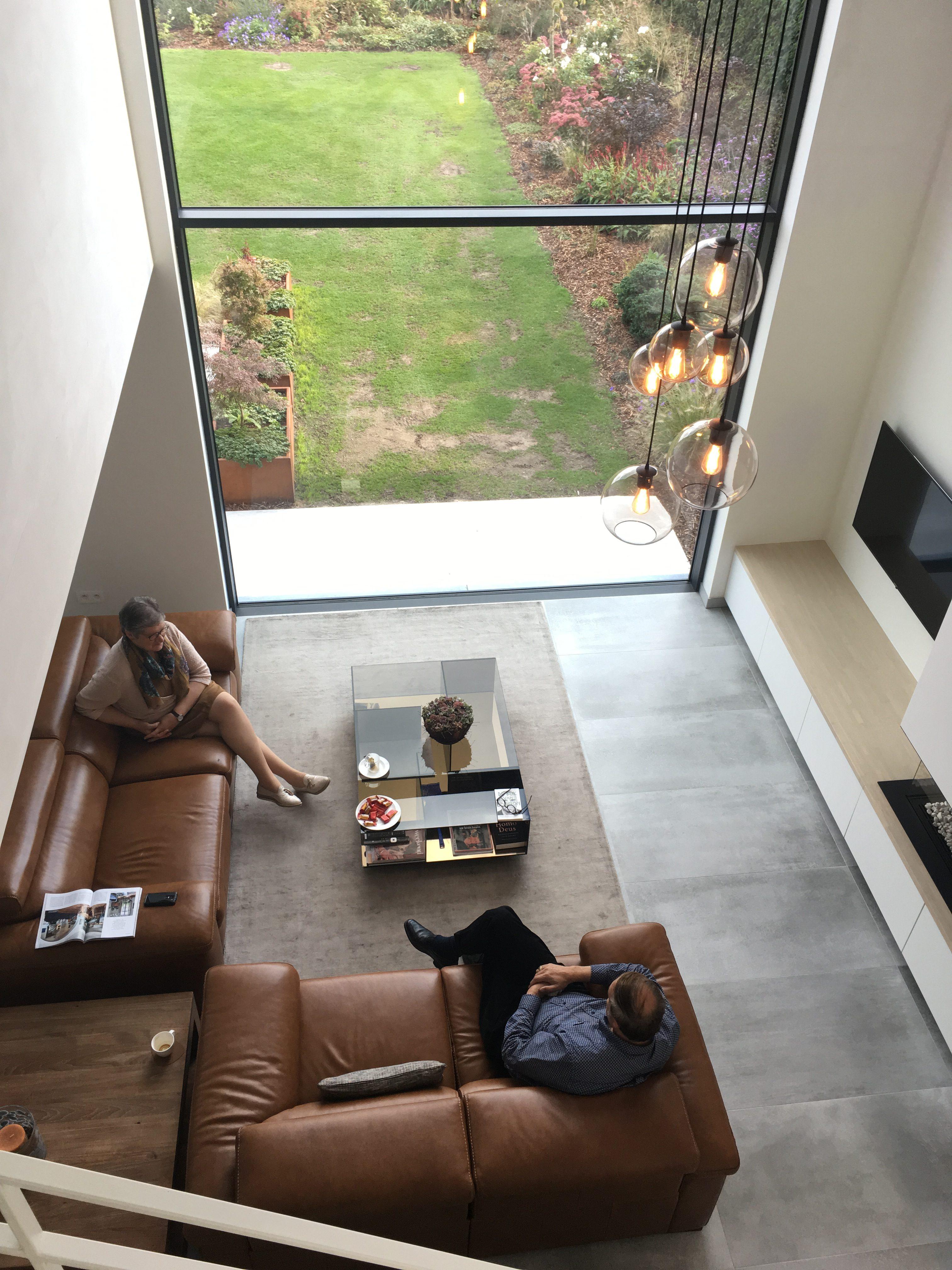 Zomergem architect nieuwbouw interieur leefruimte licht
